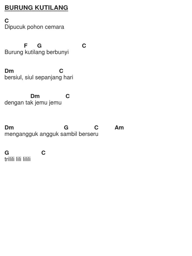 Chord Naik Delman : chord, delman, Anak-anak, Dengan, Kunci, Gitar.docx
