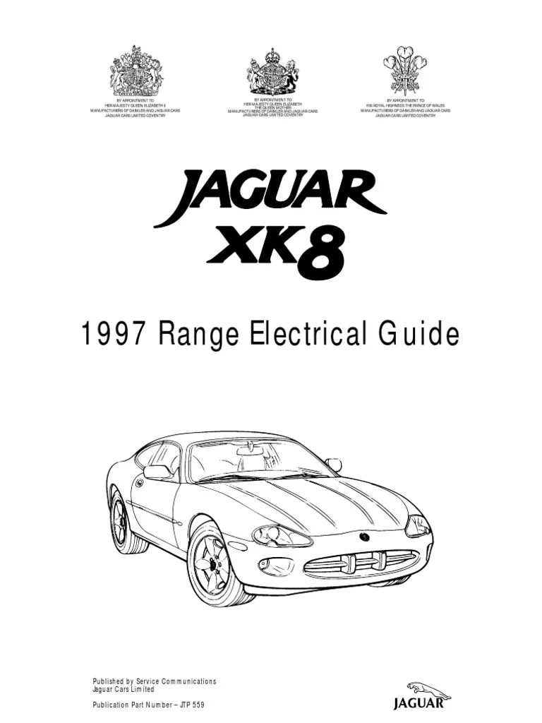 Jaguar Xj Electrical Guide Wiring Diagram Original. Jaguar
