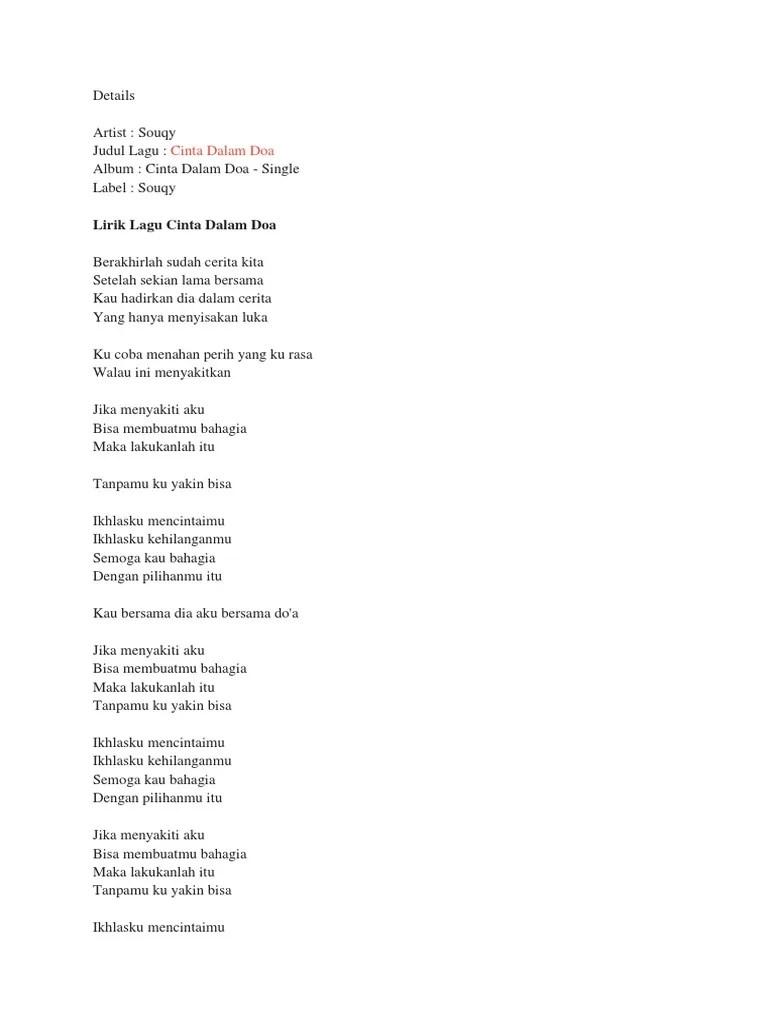 Chord Souqy Cinta Dalam Doa : chord, souqy, cinta, dalam, Kunci, Gitar, Sekian, Belajar