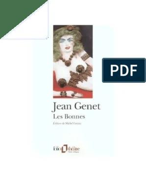 Les Bonnes Jean Genet Texte Pdf : bonnes, genet, texte, Genet-Les-Bonnes.pdf, Théâtre