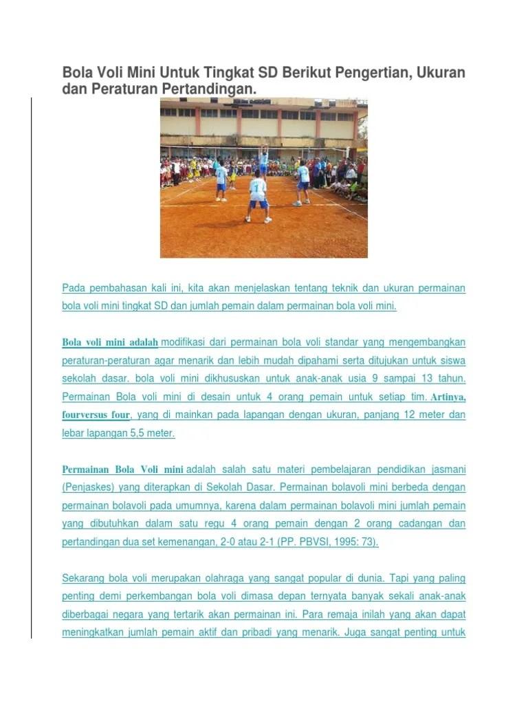 Pengertian Olahraga Bola Voli : pengertian, olahraga, Pengertian, Taktik, Dalam, Permainan, Berbagai