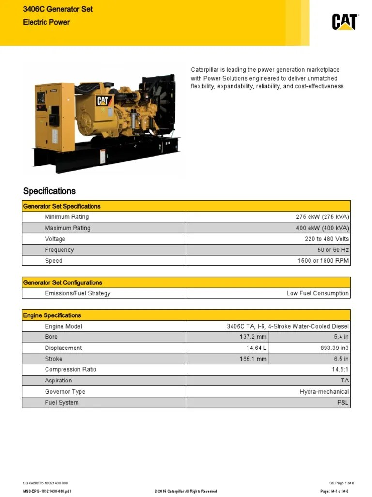cat 3406c generator wiring diagram [ 768 x 1024 Pixel ]