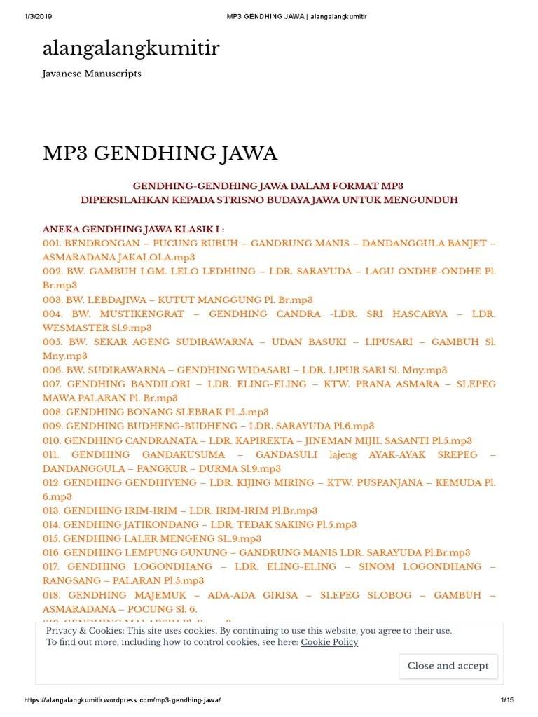 Bawok Jawa : bawok, GENDHING, Alangalangkumitir.pdf, Internet, Privacy, Computer, Security, Exploits