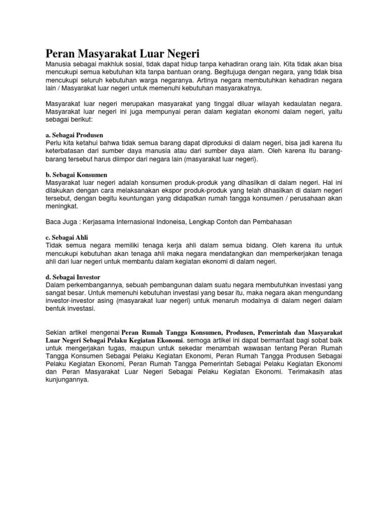 Peran Rumah Tangga Dalam Kegiatan Ekonomi : peran, rumah, tangga, dalam, kegiatan, ekonomi, Contoh, Gambar, Rumah, Tangga, Pemerintah, Gratis, Terbaru