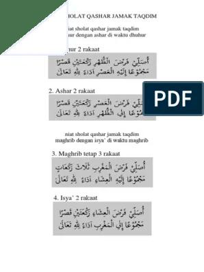 Cara Menjamak Shalat Dhuhur Diwaktu Ashar : menjamak, shalat, dhuhur, diwaktu, ashar, Sholat, Qashar, Jamak, Taqdim