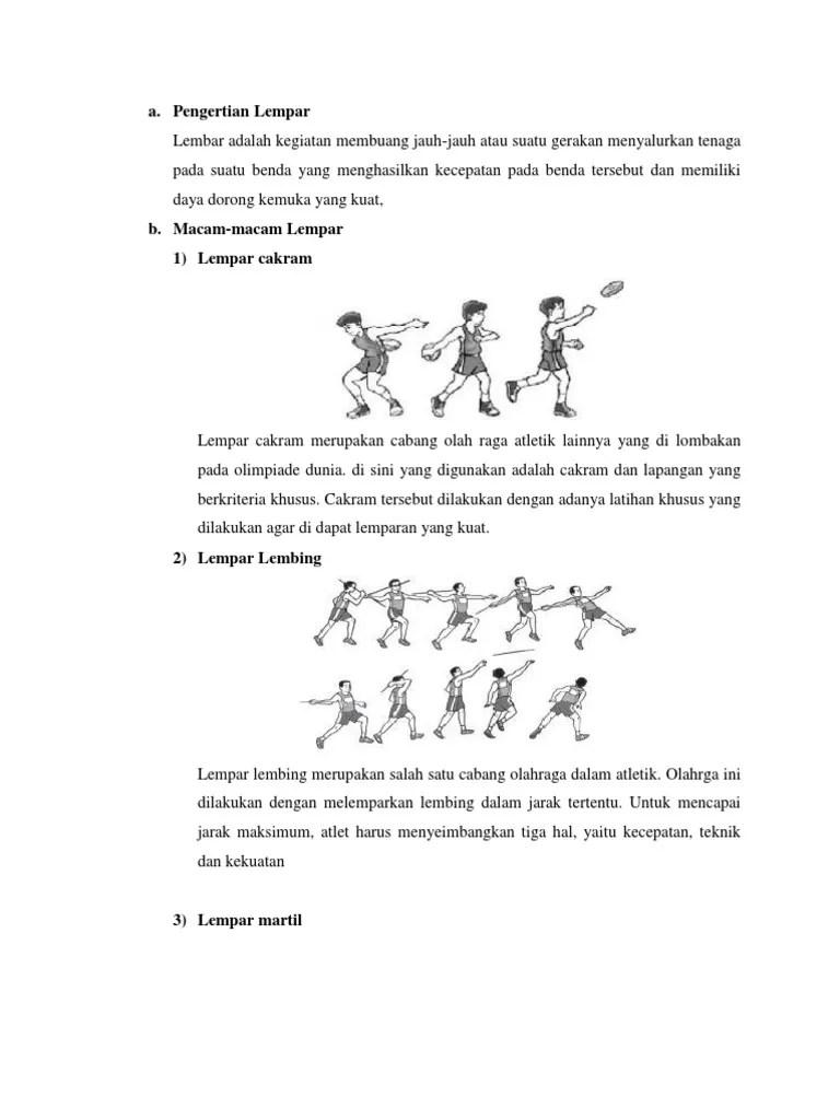 Teknik Dasar Lempar Cakram - Pengertian, Gaya, Sejarah