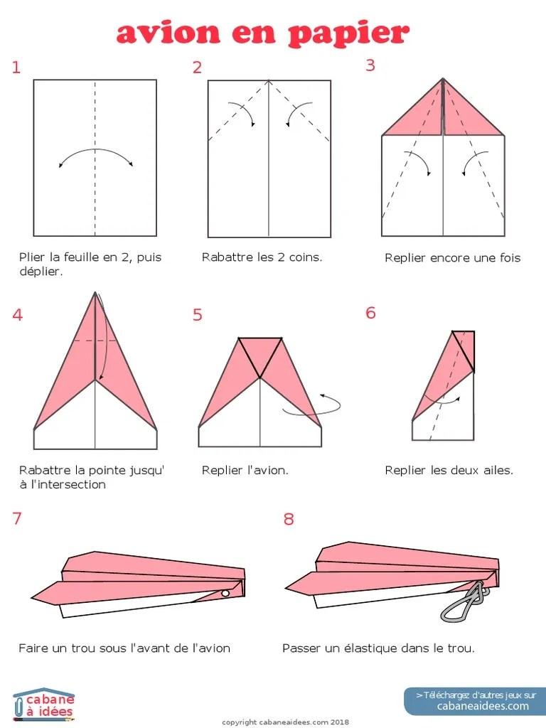 Jeux D Avion En Papier : avion, papier, Avion, Papier, Elastique
