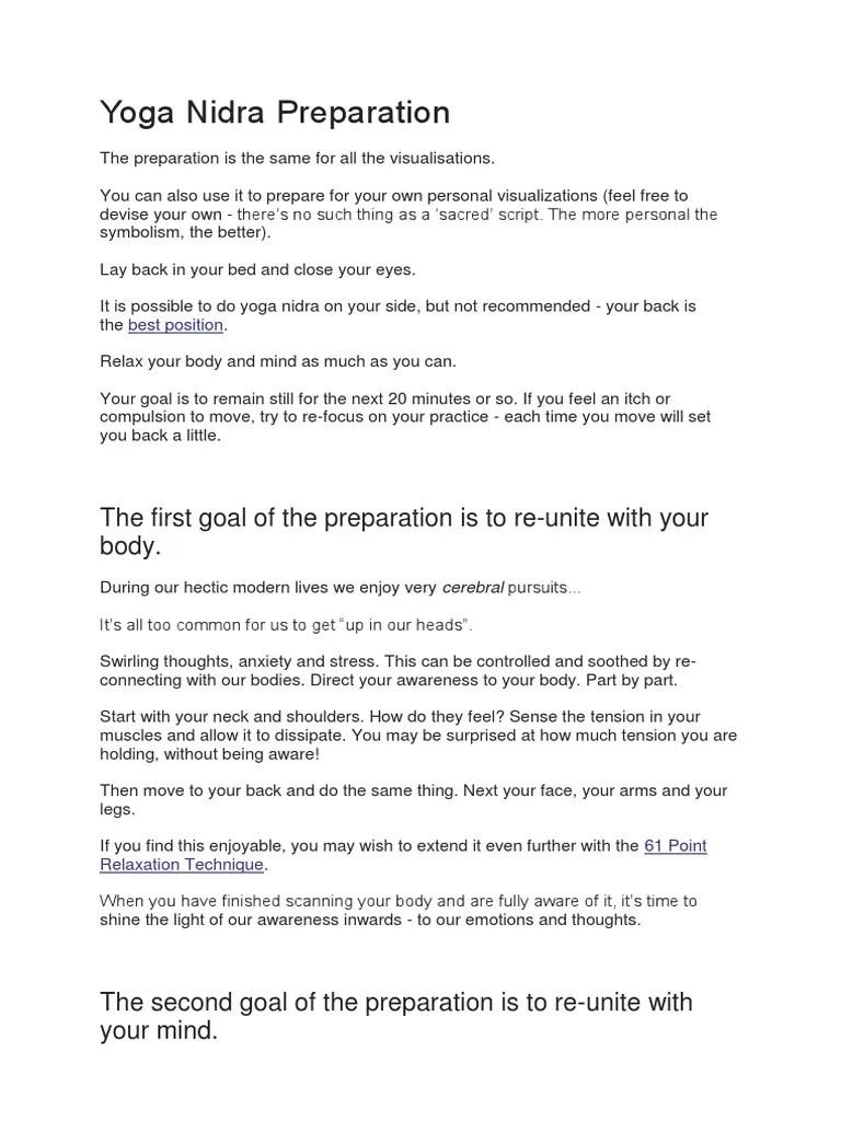 Yoga Nidra Script Pdf : nidra, script, Nidra, Scripts.docx