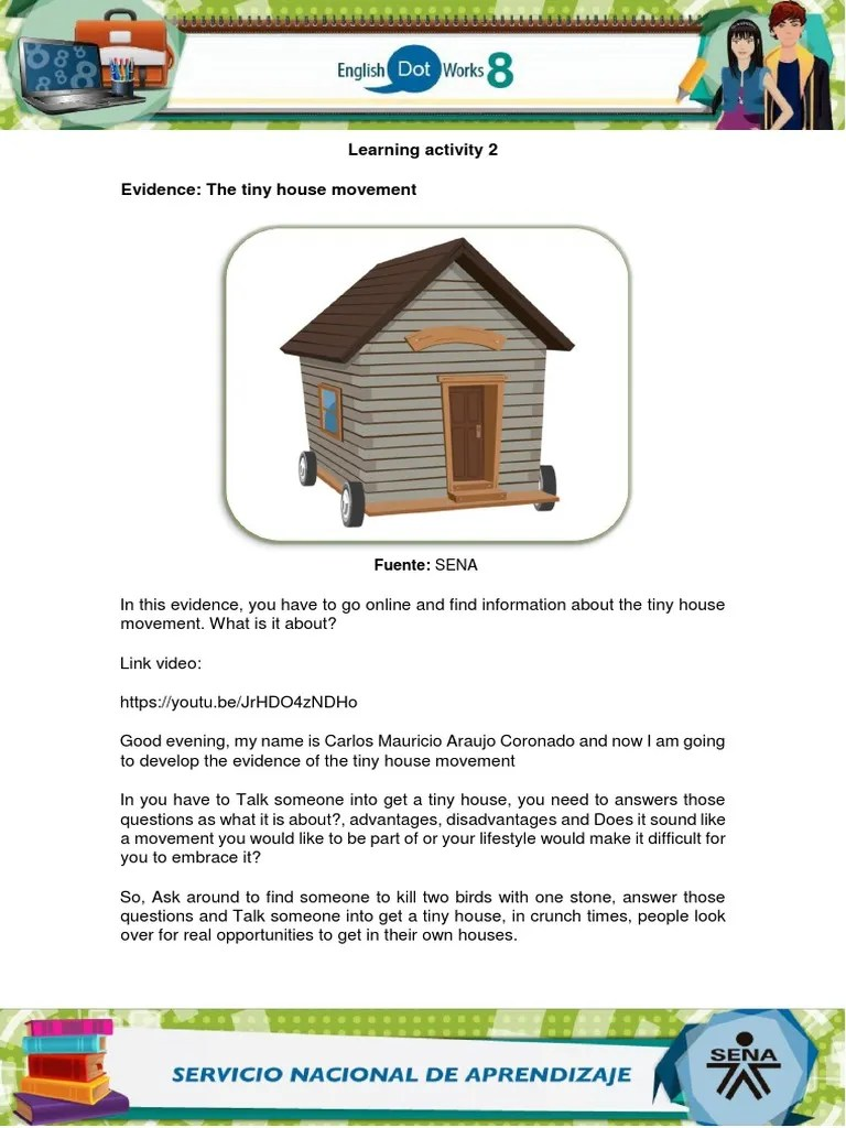 Evidence The Tiny House Movement Solved