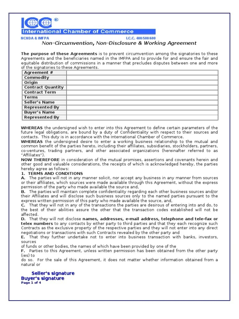We have 19 images about international non disclosure agreement template including images, pictures, pdf, wword, and more. Ncnd Coal Non Disclosure Agreement Private Law