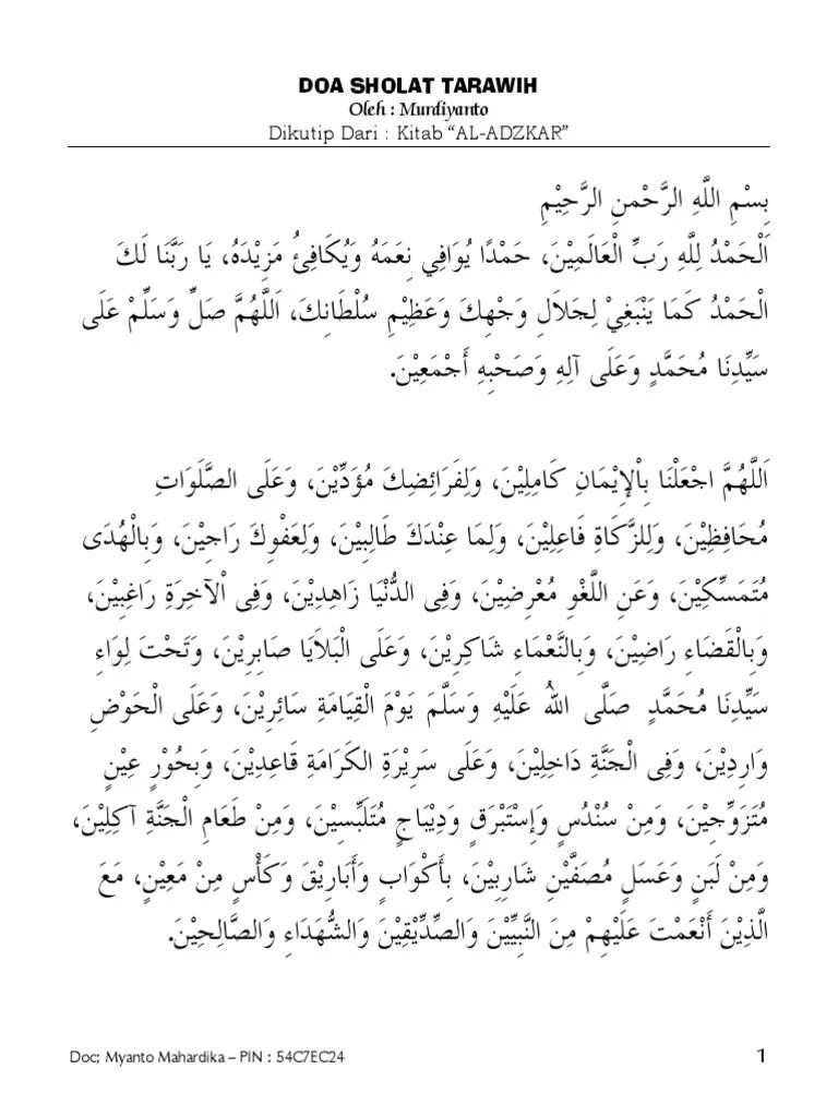 Doa Tarawih Pdf : tarawih, Doa_Sholat_Tarawih_dan_Witir.pdf