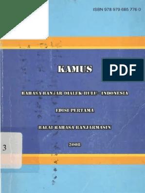 Dp Bahasa Banjar Bergerak : bahasa, banjar, bergerak, Kamus, Bahasa, Banjar, Dialek, Hulu.pdf