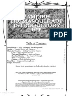 Vampire the Masquerade Directory