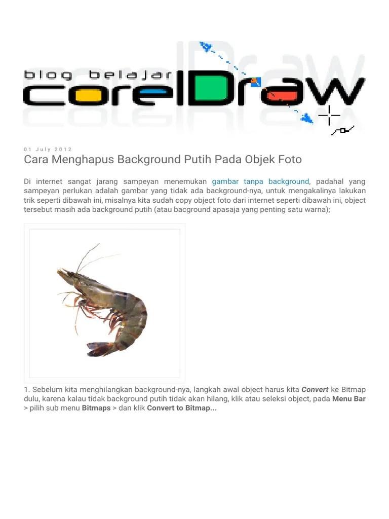 Cara Menghilangkan Background Putih Di Coreldraw : menghilangkan, background, putih, coreldraw, Menghilangkan, Background, Putih, Gambar, Masalah