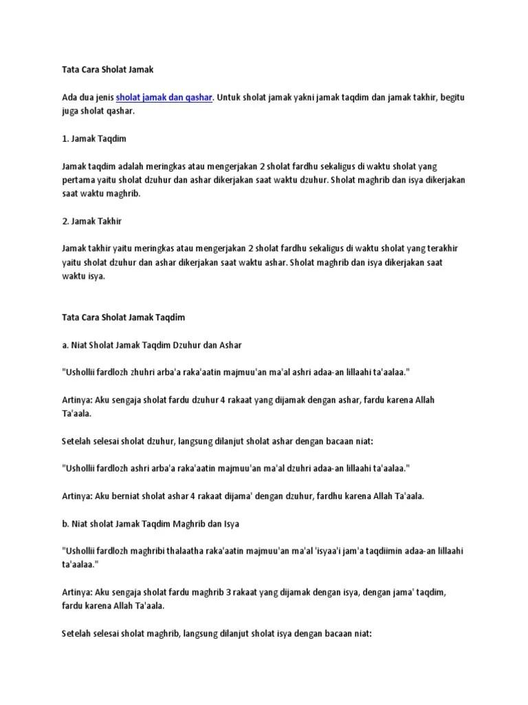 Niat Sholat Jamak Qashar Dzuhur Dan Ashar : sholat, jamak, qashar, dzuhur, ashar, Sholat, Jamak