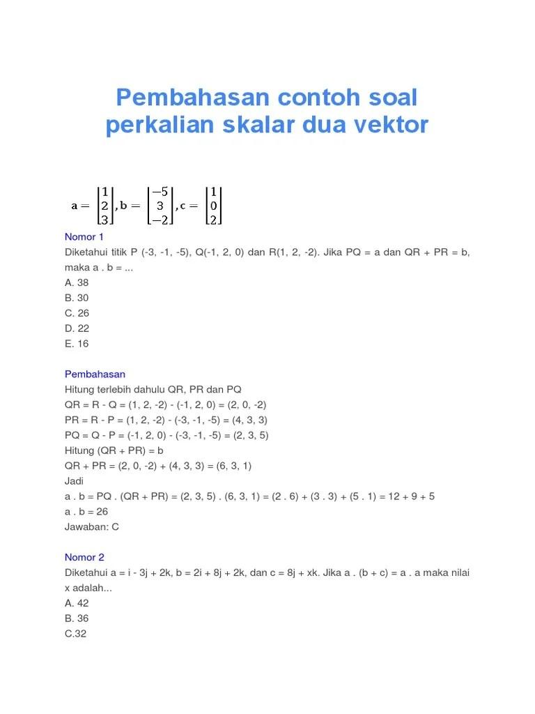 Contoh Soal Vektor Dan Pembahasannya : contoh, vektor, pembahasannya, Contoh, Vektor, Background, CONTOH