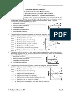 Describing Motion Graphically : describing, motion, graphically, 1DKin8.pdf, Velocity, Acceleration