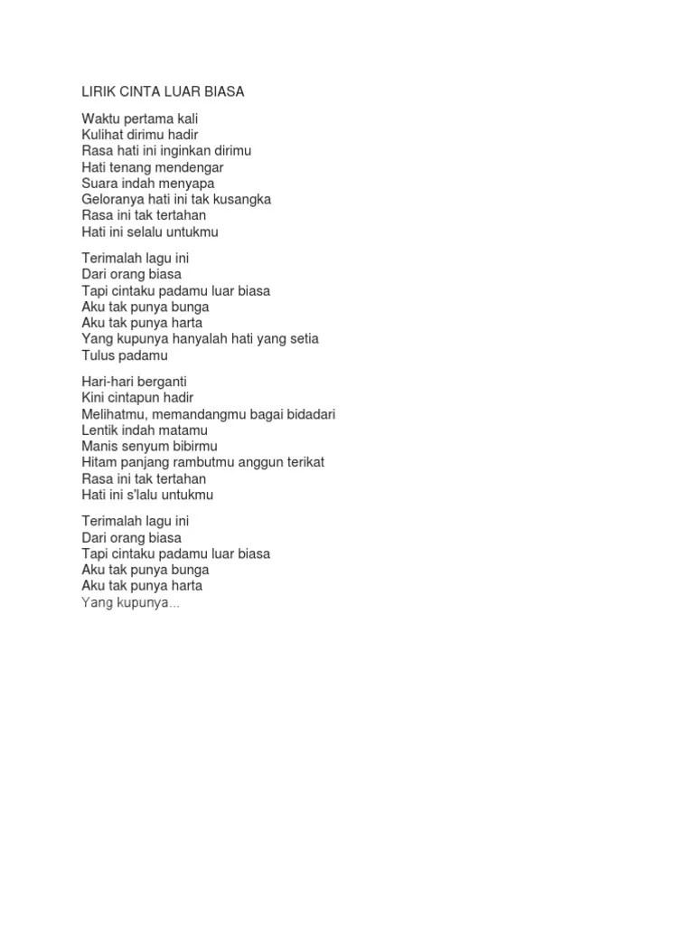 Download Lagu Cinta Luar Biasa Cover : download, cinta, biasa, cover, Cinta, Biasa, Cover, Chintya, Gabriella, Pigura