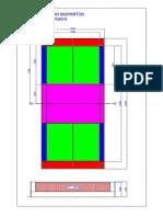 Lapangan Badminton : lapangan, badminton, Membuat, Garis, Lapangan, Badminton.pdf