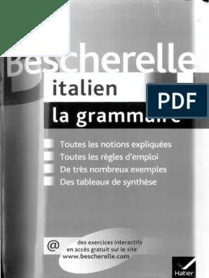 Telecharger Bescherelle Italien Pdf Gratuit : telecharger, bescherelle, italien, gratuit, Bescherelle, Italien, Grammaire, (grammaire), Accent, Tonique