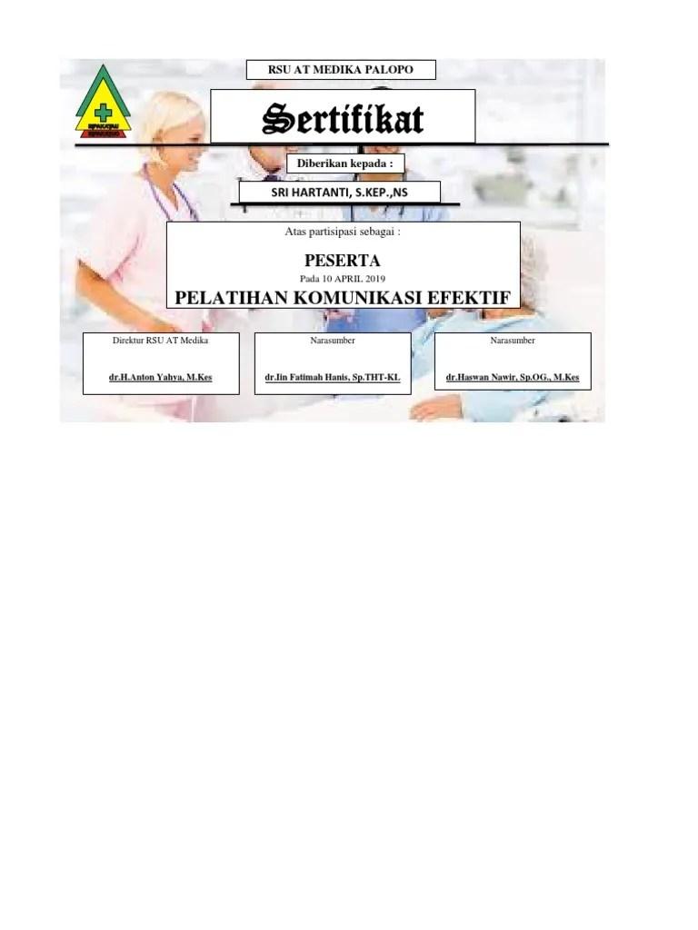 Contoh Sertifikat Narasumber : contoh, sertifikat, narasumber, Contoh, Sertifikat