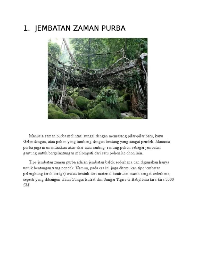 Di Zaman Purba, Jembatan Menggunakan : zaman, purba,, jembatan, menggunakan, JEMBATAN, ZAMAN, PURBA.docx