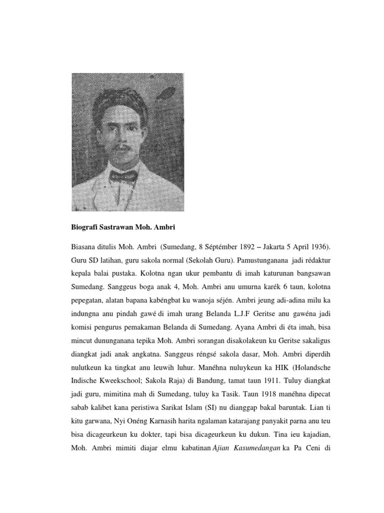 Biografi Oto Iskandar, Tokoh Pahlawan Sunda Terkenal Jawa