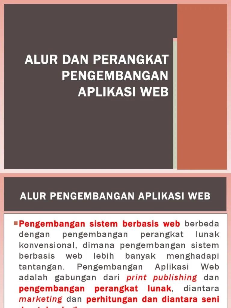Perangkat Pengembangan Aplikasi Web Berbasis Server : perangkat, pengembangan, aplikasi, berbasis, server, Perangkat, Pengembangan, Aplikasi