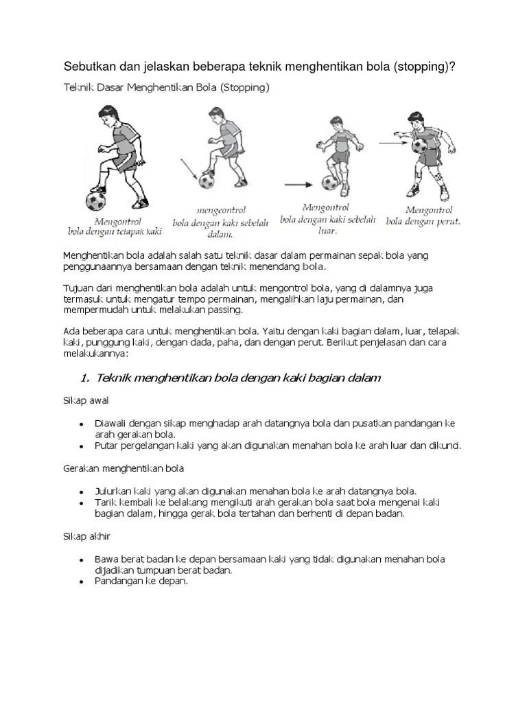 Jelaskan Teknik Menahan Bola Menggunakan Kaki Bagian Luar : jelaskan, teknik, menahan, menggunakan, bagian, Cello, (Jenis, Teknik, Menendang, Bola).docx