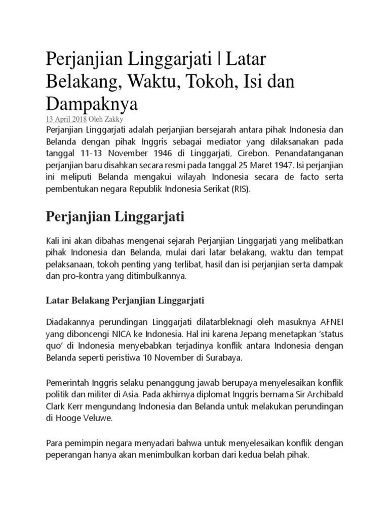 Isi Perjanjian Linggarjati : perjanjian, linggarjati, Perjanjian, Linggarjati.docx