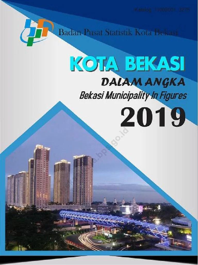 Kota Bekasi Dalam Angka 2017 : bekasi, dalam, angka, Bekasi, Dalam, Angka, 2019.pdf