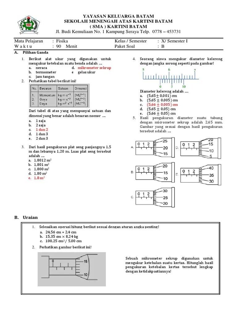 Contoh Soal Jangka Sorong Dan Mikrometer Sekrup : contoh, jangka, sorong, mikrometer, sekrup, Contoh, Jangka, Sorong, Terbaru, Cute766