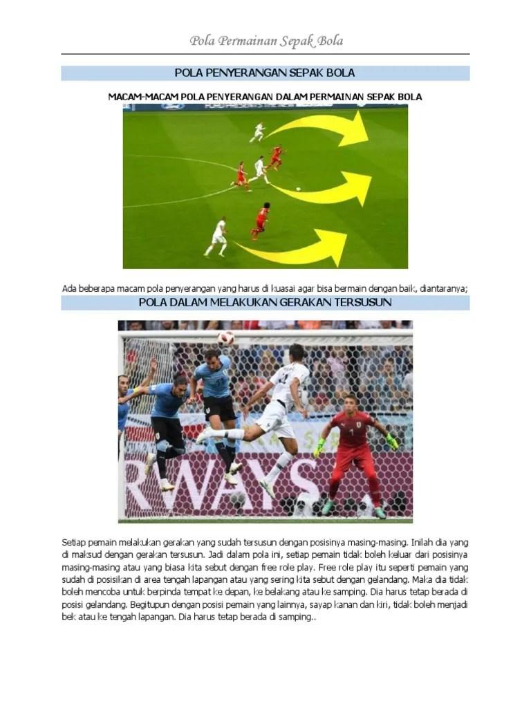Pengertian Pola Penyerangan Dalam Sepak Bola : pengertian, penyerangan, dalam, sepak, Permainan, Sepak, Terbuka, Jendela