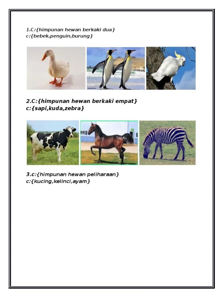 Gambar Hewan Berkaki 2 : gambar, hewan, berkaki, 1.docx