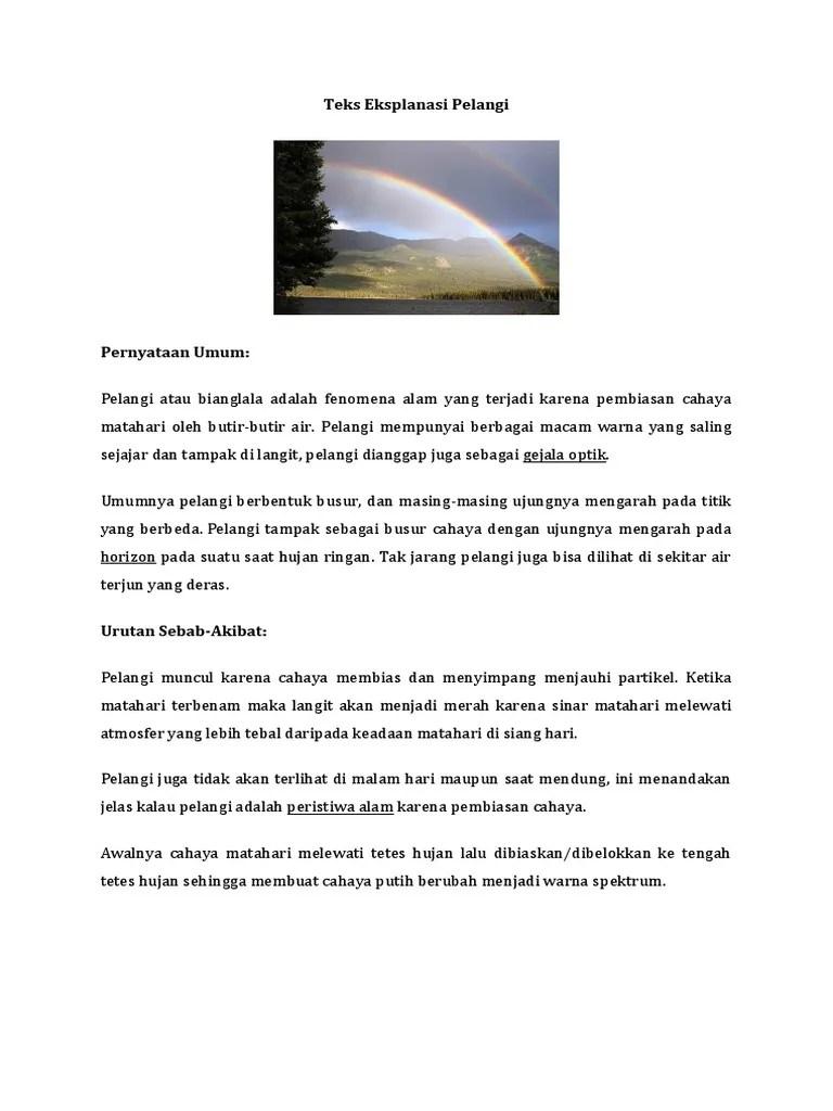 Teks Eksplanasi Hujan Meteor : eksplanasi, hujan, meteor, Contoh, Eksplanasi, Singkat, Tentang, Sosial, Budaya