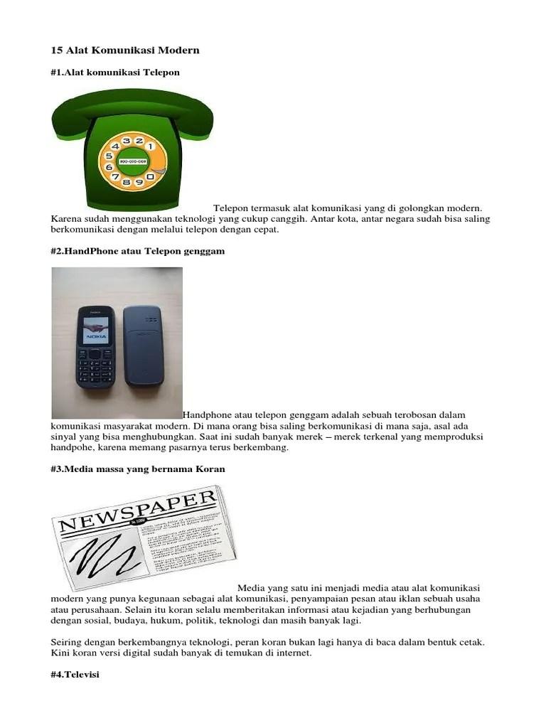 Alat Komunikasi Modern : komunikasi, modern, Komunikasi, Modern.docx