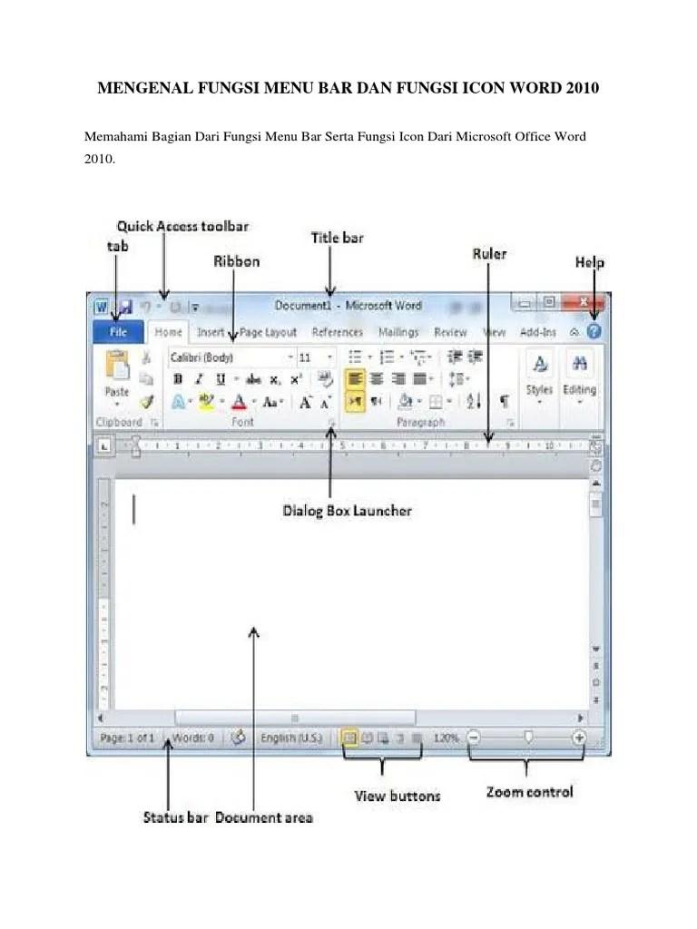 Bagian Bagian Microsoft Powerpoint 2010 : bagian, microsoft, powerpoint, MENGENAL, FUNGSI, 2010.docx