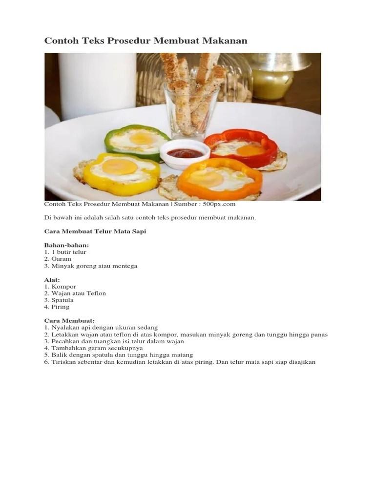 Contoh Teks Prosedur Membuat Minuman Segar : contoh, prosedur, membuat, minuman, segar, Contoh, Prosedur, Singkat,, Panjang,, Lengkap,, Kompleks