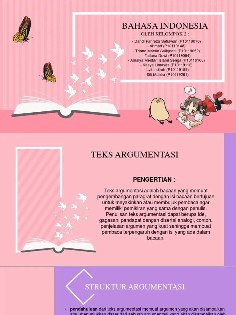 Teks argumentasi - pengertian, ciri, fungsi, jenis, contoh