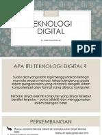 Teknologi Digital Ppt : teknologi, digital, Teknologi, Digital