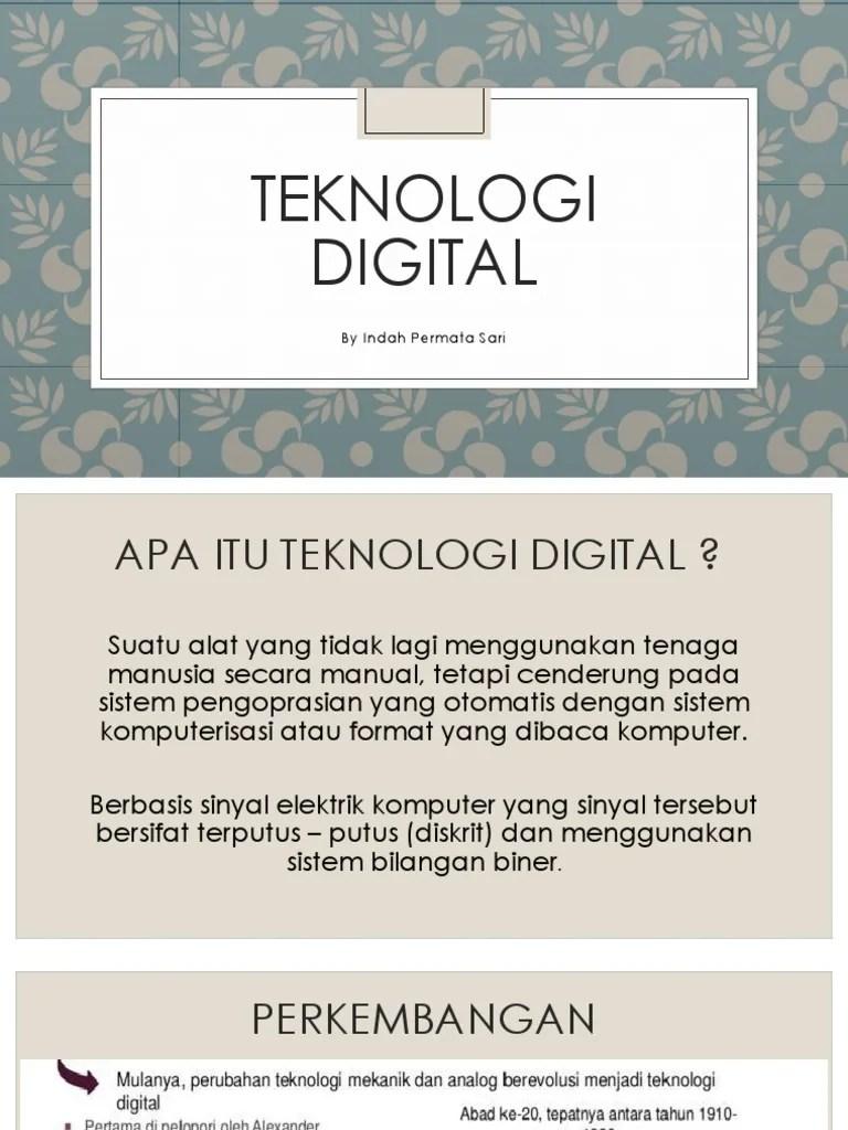 Teknologi Digital Ppt : teknologi, digital, Teknologi, Digital, Fisika, Kelas