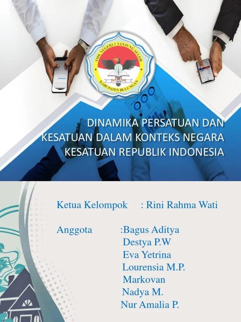 Dinamika Persatuan Dan Kesatuan Bangsa : dinamika, persatuan, kesatuan, bangsa, Dinamika, Persatuan, Kesatuan, Dalam, Konteks, Negara, Kesatuan-3