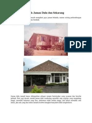 Model Rumah Jaman Sekarang : model, rumah, jaman, sekarang, Perbedaan, Desain, Rumah, Jaman, Sekarang