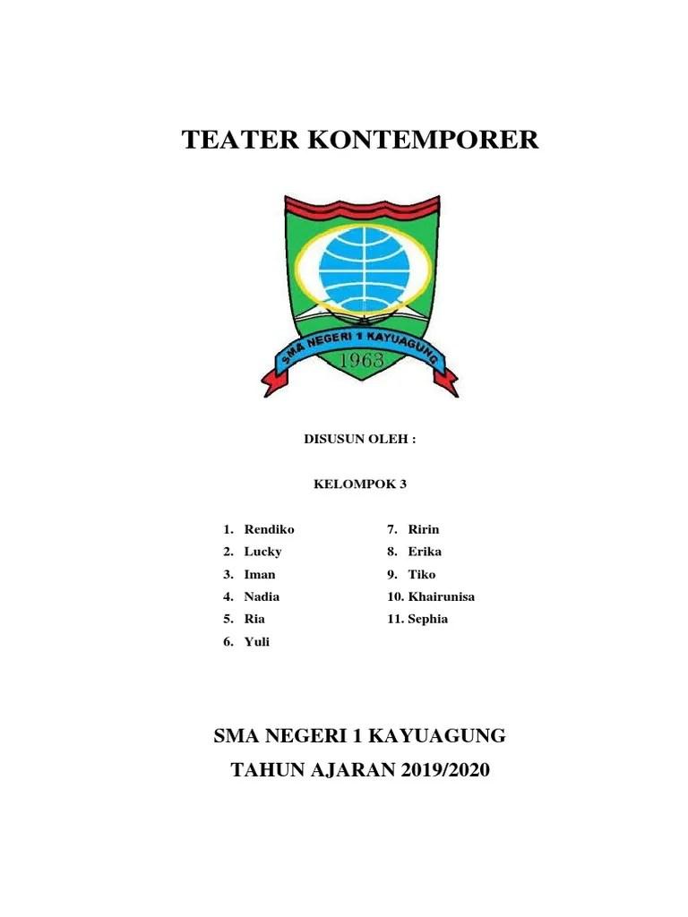 Ciri Ciri Teater Kontemporer : teater, kontemporer, Teater, Kontemporer