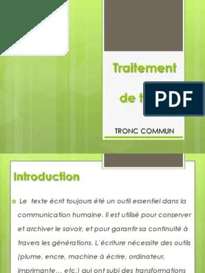 Traitement De Texte Pdf : traitement, texte, Traitement, Texte, Microsoft, Office