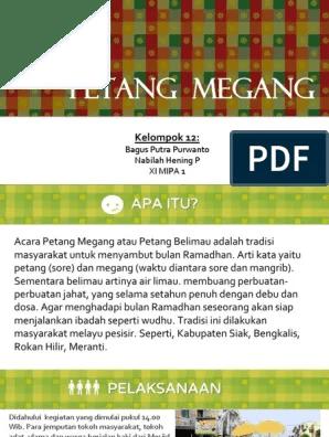 Tradisi Petang Megang : tradisi, petang, megang, Petang, Megang.pptx