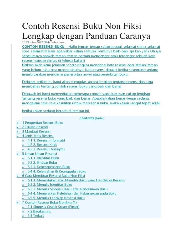 Contoh Resensi Buku Lengkap : contoh, resensi, lengkap, Contoh_Resensi_Buku_Non_Fiksi_Lengkap_de.docx