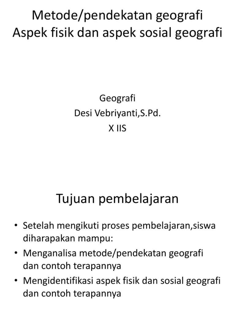 Pendekatan Geografi Dan Contoh : pendekatan, geografi, contoh, 1d,,pendekatan