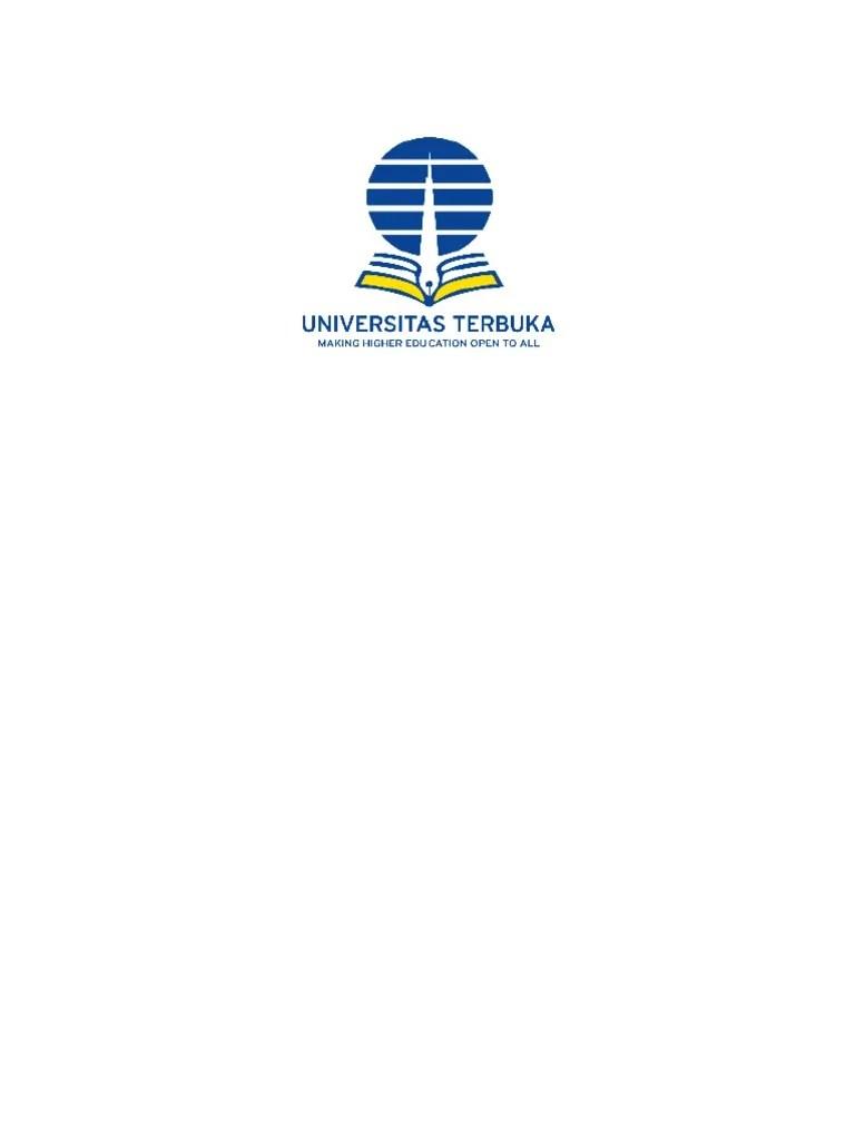 Logo Universitas Terbuka : universitas, terbuka