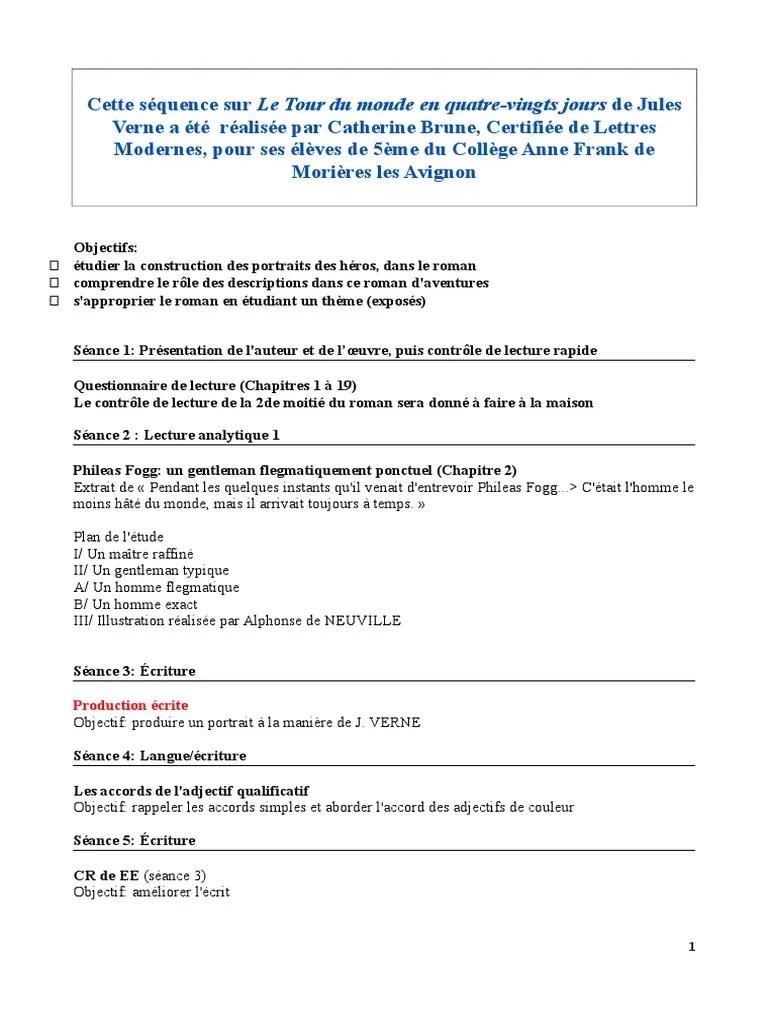 Jules Verne Le Tour Du Monde En 80 Jours Questionnaire : jules, verne, monde, jours, questionnaire, Brune-tour-du-monde-verne.doc, Monde, Quatre-vingts, Jours, Linguistique